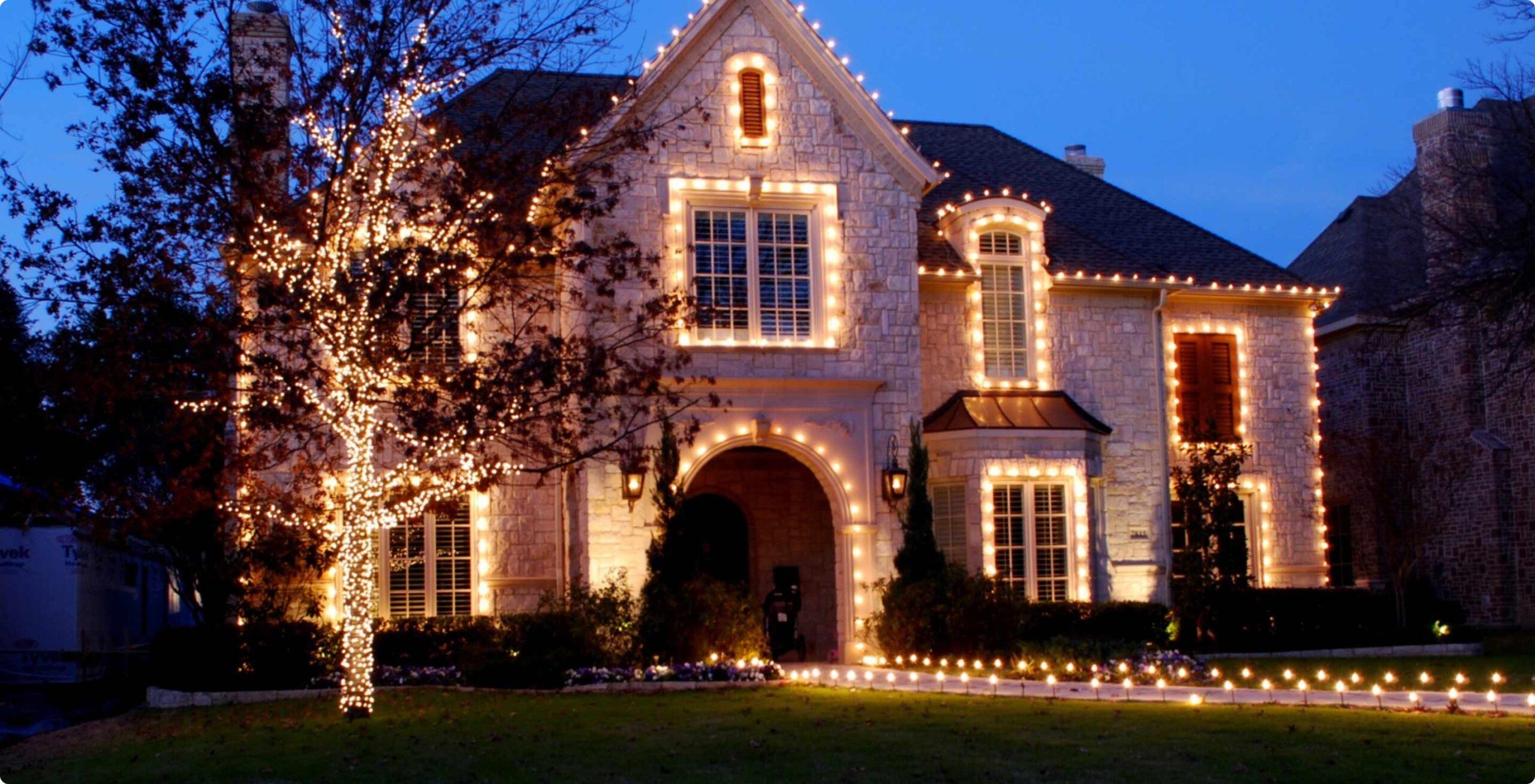 Christmas Lights Installation Bakersfield